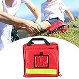 FOLOSAFENAR Tragbarer Notfallrucksack Notfall-Aufbewahrungstasche, geeignet für Sport Erste Hilfe...