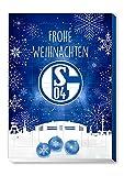 FC Schalke 04 - S04 - Adventskalender 2019 - Schoko - Weihnachtskalender 2019 - Bundesliga -...