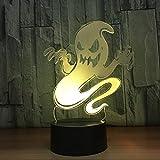 Nachtlicht-ändernde Lampe des Geist-3D LED...