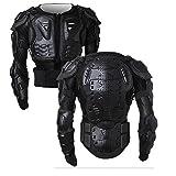 SunTime Motorrad Schutz Jacke Pro Motocross ATV Protektorenjacke mit Rücken Protektor Scooter MTB...