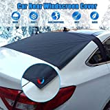 Auto-hintere Windschutzscheibe Abdeckung, Anti-Eis-Staub Sonne Windschutzscheibe Frost Covers...