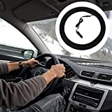 Goodtimera Lenkradhülle Lenkrad Abdeckung 12V Beheizte Lenkradbezug Universal Auto Lenkradschoner...