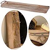 LS-LebenStil XL Mango Schneidebrett Echt-Holz Baumscheibe 40cm Vesperbrett Schneidbrett