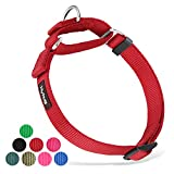 Hyhug langlebiges Nylon-Erstickungshalsband, geeignet für den täglichen Gebrauch und das Training...