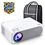 Beamer 6500 Lumen, Native 1080p Beamer Full HD, VANKYO Performance V630 Beamer Heimkino, mit...