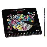 Conté Buntstifte Set, Limited Edition, 24 Stifte in kräftigen Farben, Hochwertige Farbstifte für...