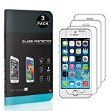 Bear Village iPhone SE/iPhone 5 5s Displayschutzfolie, 3D Touch, Anti-Fingerabdruck, HD Ultra klar...