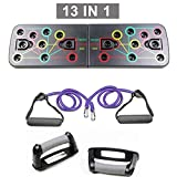 Minetom 14 in 1 Push Up Board Multifunktionales Push Up System Gym Grizzly Brett liegestuetz mit...