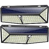 Solarlampen für Außen 430 LED 【USB Aufladung & 3500 Lumen】kilponen Solarleuchte Außen mit...
