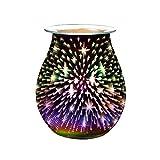 LOREMYI Aromalicht, 3D-Nachtlicht, Berühren Aroma-Licht, elektrisch, Duftwachs, Duftlampe,...