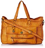 PIECES TOTALLY ROYAL LEATHER TRAVEL BAG NOOS 17055349 Damen Umhängetaschen, 1 Groesse (one size),...