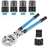 FIXKIT Rohrpresszange TH Kontur Presszange mit Mehrschichtbacken 16mm-20mm-25mm-32mm fr PEX-Rohre,...