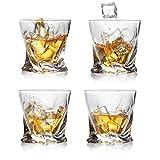 Sweejar Whiskey-Gläser, 237 ml, groß, für Scotch, Bourbon, altmodische Cocktails oder...