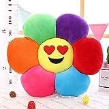 nobrand Lustige Ausdrucke Kissen Kreative Sun Flower-Plüsch-Spielzeug-Runde weiches gemütliches...