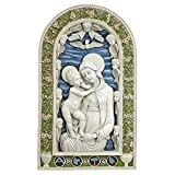 Design Toscano Jungfrau Maria und Kind, Flachrelief-Wandfigur