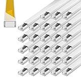 Kabelkanal selbstklebend 15 x 10 mm Installationskanal 28 m PVC Wand Decken Montage allzweck aller...