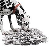 IEUUMLER Schnüffelteppich Hund Riechen Trainieren Schnüffeldecke Futtermatte Trainingsmatte für...