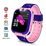 Kinder Smartwatch, Smart Watch Phone mit Musik-Player, SOS, 1,44 Zoll LCD-Touchscreen-Uhr mit...