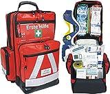 Erste Hilfe Notfallrucksack für Sportvereine, Freizeit & Event - Planenmaterial mit Waterstop...