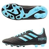 adidas Performance Predator 19.4 FxG Fußballschuh Kinder schwarz/blau, 36 EU - 3.5 UK - 4 US