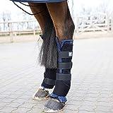 HORZE Stallgamaschen Pro, hinten, Atmungsaktiv, Stabilisierend, 2 Stück, Größen: Pony, Vollblut,...