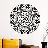 Tianpengyuanshuai Runder Symbol Mandala Muster Wandaufkleber Wohnzimmer abnehmbare Selbstklebende...