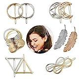 Ealicere Metall Haarklammern Haar Pin Spangen, 12 Stück Haarspangen Haarnadeln...