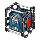 Bosch Professional 18V System Akku Baustellenradio GML 20 (20 Watt, USB, SD, 2x Aux-In, Aux-Out, 12V...