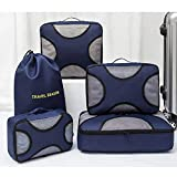 Gepäck Wokkol Packtaschen, Packbeutel, Kleidertaschen, Kleidertaschen für Koffer, Reise...