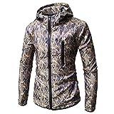 Kapuzen Jacke Herren Langarm Herbst Mode Camo Drucken Hoodie Classics Full Zip Sweatshirt Winter Neu...