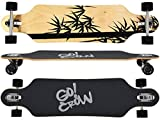 MAXOfit Deluxe Longboard Crow 9 Schichten Maple, 104 cm, or-19012