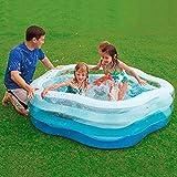 PP Wasser Play Center for Kinder 185  180  53 cm Pentagon Planschbecken Repair Patch-Family Fun...