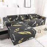 CC.Stars Couchbezug Sesselbezug,Elastische Stretch-Sofabezug, 1/2/3/4 Sitzsesselbezug, L-förmiger...
