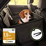 Hundesitz Auto Hunde Autositz kleine Hunde Hundeautositz mit Gurt Hundekorb fürs Auto Sitz...