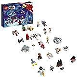 LEGO 75279 Star Wars Adventskalender 2020 Weihnachten Mini Bauset mit legendären Raumschiffen und...