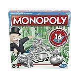 Monopoly, klassisches Brettspiel für die ganze Familie für 2 bis 6 Spieler, für Kinder ab 8...