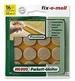 Ritterrath 3566001 Big-Duo Parkettgleiter 22mm 16 Stück