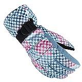 WFZ17 Winter-Outdoor-Handschuhe, für Damen, wasserdicht, winddicht, Thermo, dick, Ski- und...