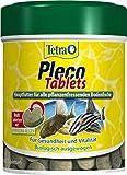 Tetra Pleco Tablets – Nährstoffreiches Hauptfutter für alle pflanzenfressenden Bodenfische (z.B....