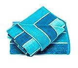 Trident Farben Cabana Badetücher aus 100% Baumwolle - Superweich, einseitig geschert, pflegeleicht...