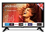 Cello C2420G Smart-TV für Android mit Freeview Play, Google Assistant, Google Chromecast, 3 x HDMI...