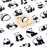BLOUR 45 Stück/Pack Nette Tiere Panda Dekoration Klebstoff Aufkleber DIY Cartoon Aufkleber Tagebuch...