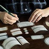 BLOUR Vintage Farbetikett Aufkleber kann Washi Tape Cute Briefpapier Name Aufkleber auf dem...