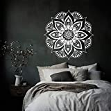 Abnehmbare Kunst Mandala marokkanischen Ornament Blume Wandaufkleber Indian Circle Dorm Home Decor...