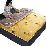 XER Tatami Bodenmatte, Faltbare Matratze Reisebett Outdoor Home Bodenmatratze Futon für Schlafsaal...