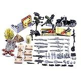 Yayun Militär Armee Waffen und Zubehör Set WW2 Waffen SWAT Polizei Waffen Kompatibel mit Lego...