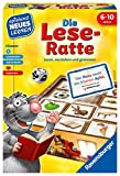 Ravensburger 24956 - Die Lese-Ratte - Spielen und Lernen für Kinder, Lernspiel für Kinder ab 6-10...