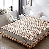 Tatami matratze traditionelle Boden Futon Matratzen Isomatte, Warme Tatami Mat Faltbare Roll-Up...
