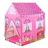 KinderSpielzelt Zur Verwendung Drinnen Oder Draußen Kinder Spielhaus für Mädchen ab 3 Jahre...