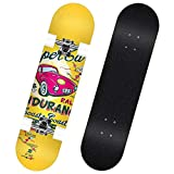 Erwachsene Kinder Skateboard Geeignet for Anfänger und professionelle Spieler Cruiser Skateboard...